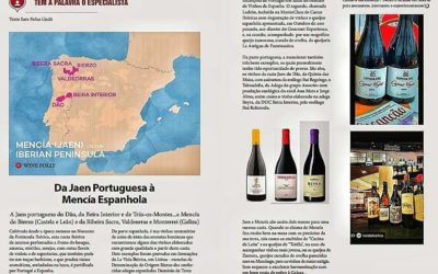 Da Jaen Portuguesa à Mencia Espanhola