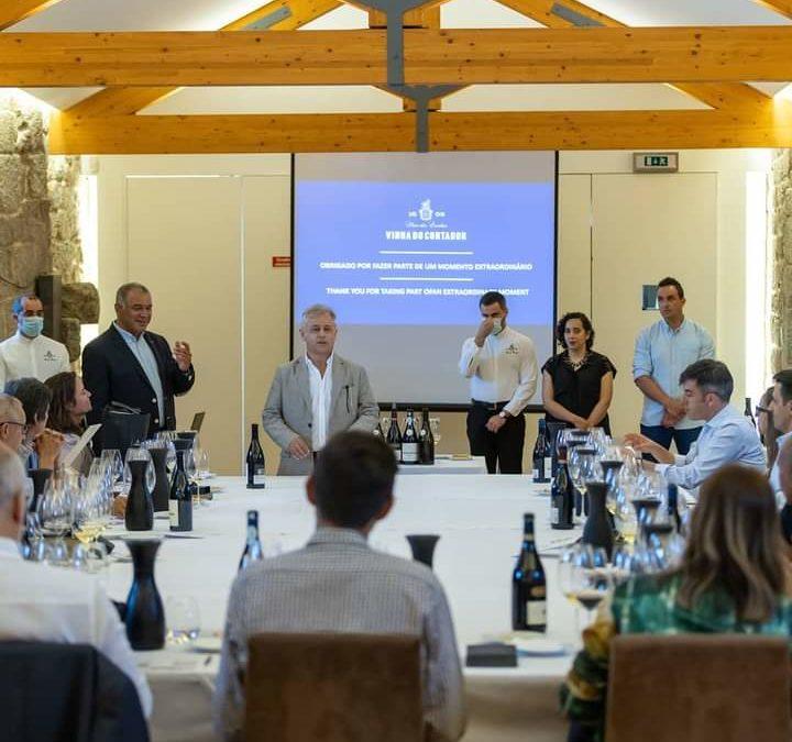 Vinos Premium de la Región Vitivinícola del Dão, la Borgoña Portuguesa, a examen del Gran Jurado.